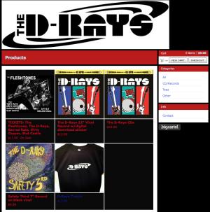 The D-Rays Vinyl